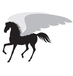 Horse wing vector
