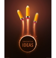 Innovative ideas vector