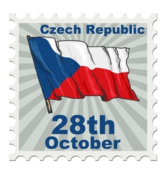 National day of czech republic vector