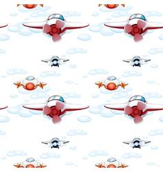 aeroplanes vector image vector image