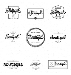 Fashion boutique premium - badge logo sticker vector