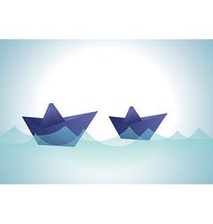 Origami design vector