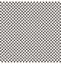 pattern black circle white circle inside seamless vector image vector image