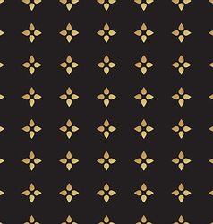 Universal black and gold seamless pattern tiling vector