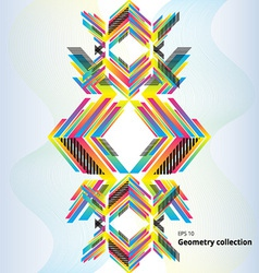 Geometry abstract pattern vector