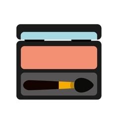 Eye mask makeup product isolated icon design vector