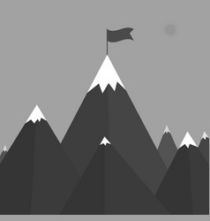 A mountain vector
