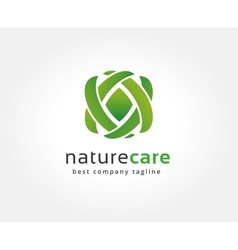 Abstract nature logo icon concept logotype vector
