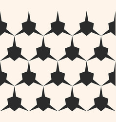 Geometric seamless pattern with edgy triangle vector