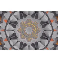 Oriental mandala seamless wallpaper vector image vector image