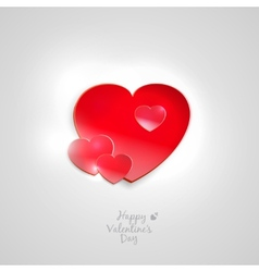 Valentines Heart vector image