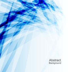 Abstract Blue Background Concept Template vector image