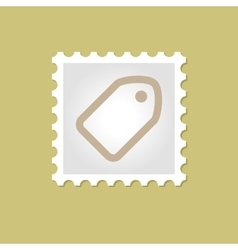 Tag stamp vector