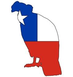 Andean condor chile vector