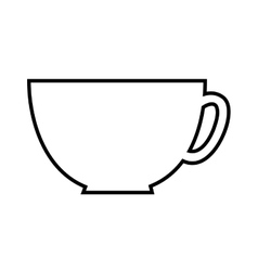 coffee cup isolated icon design vector image