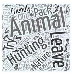 Nature friendly hunter dlvy nicheblowercom word vector