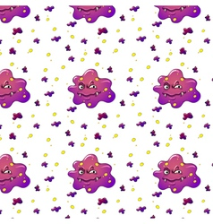purple monsters vector image