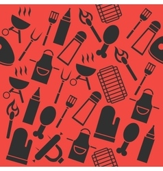 Grill barbecue collage vector