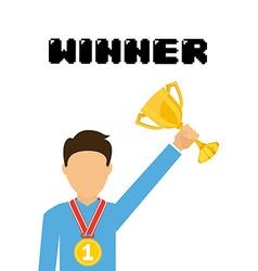 Winner concept vector