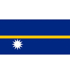 Nauruan flag vector