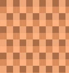 Brown checked seamless pattern vector