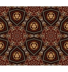 abstract vintage ethnic pattern ornamental vector image