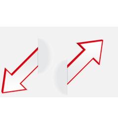 Arrows 2 vector image vector image