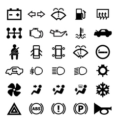 Car indicator icon vector image vector image