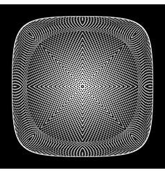 Design monochrome grid textured background vector