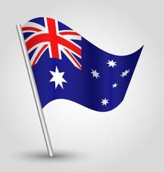 flag australia vector image