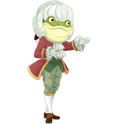 Footman frog vector