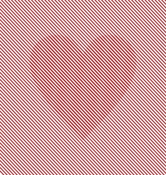 Op art heart optical striped seamless vector