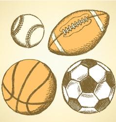 Us football ball basket vector