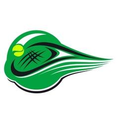 Tennis sports icon vector image