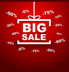 Big sale special offer discount vector