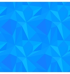 Abstract blue triangulated pattern vector image vector image