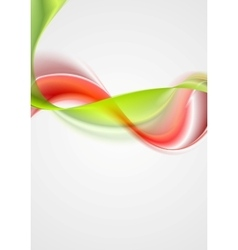 Abstract colorful waves elegant background vector image vector image