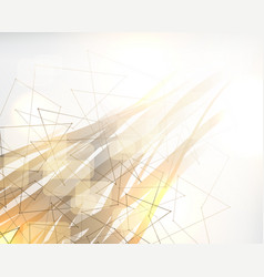 abstract poly background polygonal design vector image