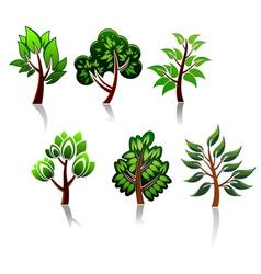 ecology or environment logos vector image vector image