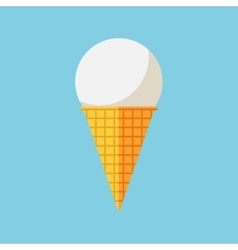 Ice cream icon vector image vector image