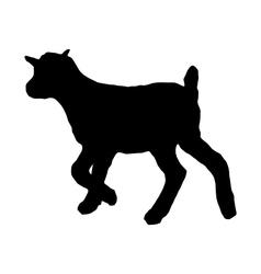 Kid silhouette vector
