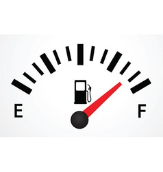 Fuel gauge design vector