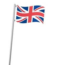 United kingdom flag vector