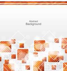 Abstract Squares Geometric Background for Design vector image vector image