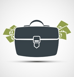 Briefcase stock vector