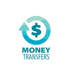 logo remittances vector image vector image