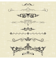 ornaments vector image vector image