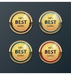Set of top quality guarantee golden labels vector