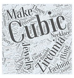 Cubic zirconia jewelry is making a splash in vector