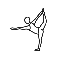 Lord of dance pose vector